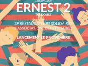 Avec Ernest restaurateurs clients ensemble solidaires