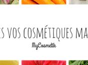 MyCosmetik, l'e-shop pour créer cosmétiques maison CONCOURS