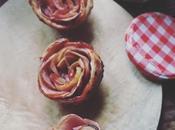 """Petites roses feuilletées pommes, fleur d'oranger confiture fruits rouges """"Bonne Maman"""""""