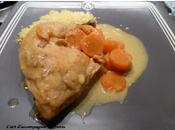 Poulet carottes sauce curry