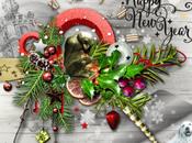 happy year-bonne annee avec mons coeur neige