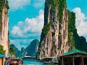 Baie Halong îles karstiques grottes