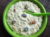dessert protéiné muesli avec fruits secs, amarante yaourt soja (diététique, sans sucre oeuf beurre, riche fibres)