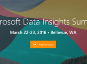 Assistez Microsoft Data Insights Summit mars