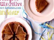 crèpes cacao l'huile d'olive bonne chandeleur