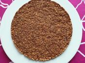 pancake végan hyperprotéiné chocolat-blé complet soufflé-son d'avoine-muesli (sans sucre beurre oeuf, riche fibres)