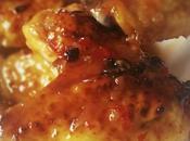 Ailes poulet miel, citron sauce sweet chili