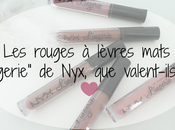 """rouges lèvres mats """"lingerie"""" Nyx, valent-ils"""