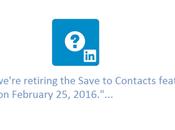 LinkedIN réduit fonctionnalités février 2016…pas panique!