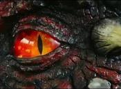 énorme dragon installé Pays Galles pour Saint David