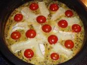 Omelette chèvre quinoa