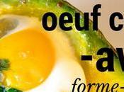 Oeuf cocotte avocat recette Paléo