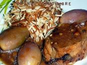 Filet mignon échalotes confiture orange/gingembre cuisson basse-température