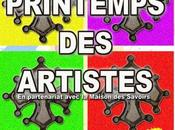 PRINTEMPS ARTISTES avril 2016 château Laurens, Agde