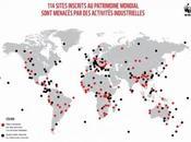 moitié sites naturels classés l'UNESCO sont menacés activités industrielles