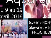 Masmoulin 1ère Biennale l'Aquarelle Coquelles