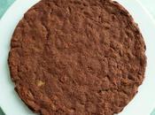 moelleux hyperprotéiné pomme poire chocolat coco cannelle avec d'avoine-psyllium (diététique, sans beurre, riche fibres)
