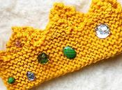 [Atelier DIY] Tricote couronne princesse