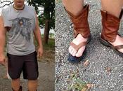 Redneck Boot Sandals, service transforme santiags