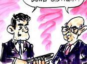 Caricature Valls Cazeneuve