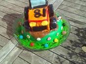 Gâteau tracteur thermomix sans (gâteau yaourt ganache nutella)