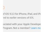 Premières bêtas pour 9.3.3, tvOS 9.2.2 10.11.6