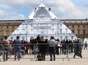 Louvre pyramide disparue