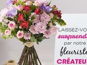 Fête Mères, bouquet surprise fleuristes Interflora