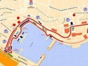 MONACO Tour virtuel circuit vuelta virtual circuito Mónaco.