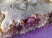 Clafoutis rhubarbe (vegan)