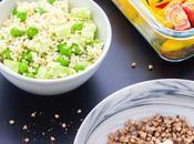 Salade toute verte millet Feta légumes rôtis sarrasin