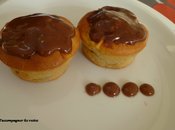 Petits moelleux pommes, ganache Carambar