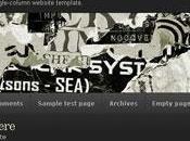 Thème Wordpress Grunge Superstar