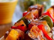 ~Brochettes porc grillé~