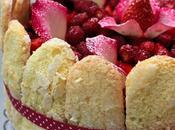 Charlotte rose fraises bois