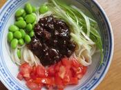 jiang mian, nouilles d'été 夏日的一碗炸酱面