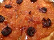 Tarte tomate chorizo