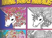 Coloring Book Adults Animal Bundle Mandalas (Animals FREE
