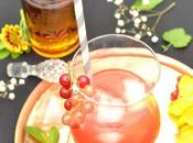Cocktail Calvados, fraises bois cointreau