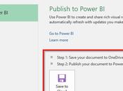 Publier fichiers Excel dans Power