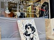 Fumeuses danseuses Zapata mettent scène chez Akiza Galerie