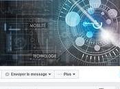 Nouveau look pour pages Facebook version l'application mobile