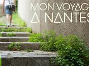 """PARTIE Déambulation, long ligne verte, pour voyage Nantes"""" ville artistique avec grand"""