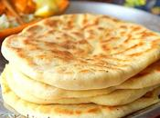 Cheese naan (pain indien fromage)