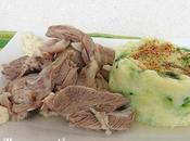 Tete veau, écrasée pomme terre courgette [#recettetraditionnelle #food]