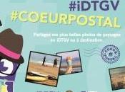 IDTGV participe l'opération #coeurpostal