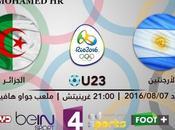 2016 voir match Algérie Argentine