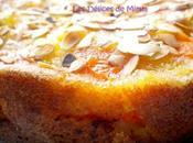 Gâteau moelleux abricots amandes