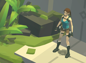 Lara Croft iPhone promotion l'App Store