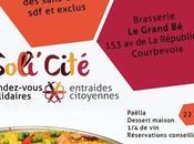 Solli'Cité soirée soutien actions Paëlla Grand